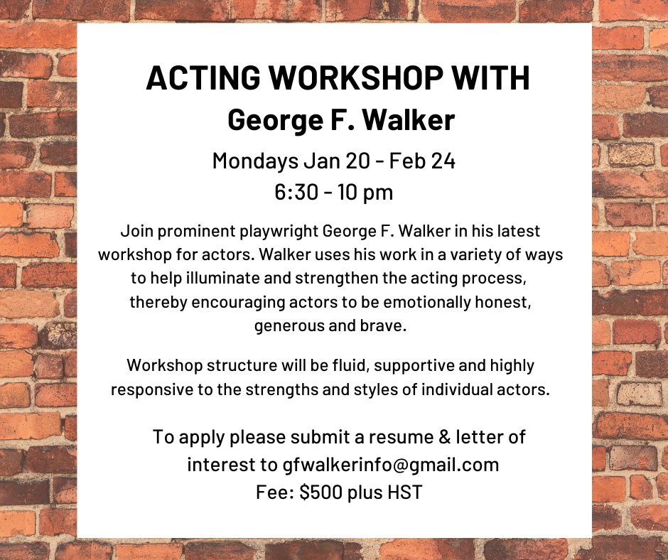 ACTING WORKSHOP WITH